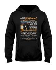 Marine Girlfriend To Me You Are The World Hooded Sweatshirt thumbnail