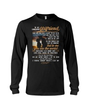 Marine Girlfriend To Me You Are The World Long Sleeve Tee thumbnail