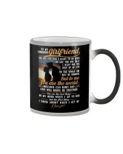 Marine Girlfriend To Me You Are The World Color Changing Mug thumbnail