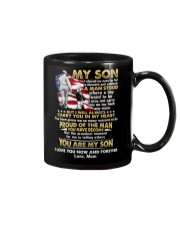 Veteran Son Mom I Closed My Eyes Mug front