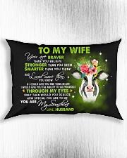 Braver Than You Believe  Rectangular Pillowcase aos-pillow-rectangle-front-lifestyle-4