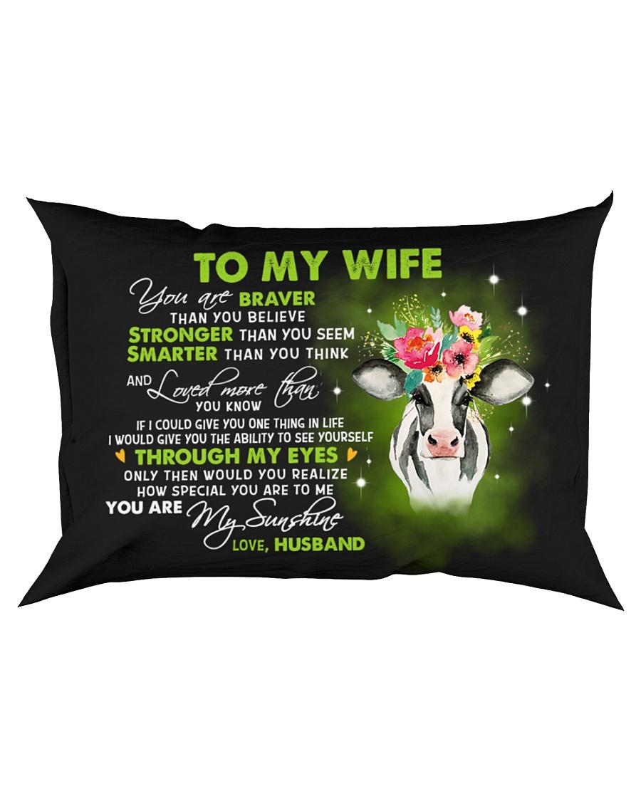 Braver Than You Believe  Rectangular Pillowcase