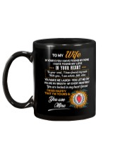 In Your Eyes Found My Home Family Wife Mug back