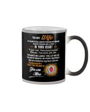 In Your Eyes Found My Home Family Wife Color Changing Mug thumbnail