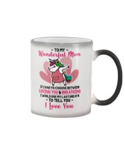 To My Wonderful Mom If I Had To Choose Unicorn Color Changing Mug thumbnail
