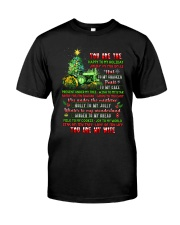 You Are The Happy To My Holiday Classic T-Shirt thumbnail