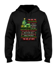 You Are The Happy To My Holiday Hooded Sweatshirt thumbnail
