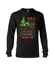 You Are The Happy To My Holiday Long Sleeve Tee thumbnail