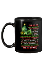You Are The Happy To My Holiday Mug back