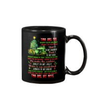You Are The Happy To My Holiday Mug front