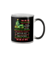 You Are The Happy To My Holiday Color Changing Mug thumbnail