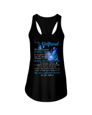 Butterfly Girlfriend I'm Always With You Ladies Flowy Tank thumbnail
