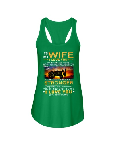Farmers Love Makes Me Stronger Wife
