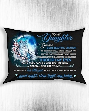 You Are Gods Beautiful Creation Wolf Rectangular Pillowcase aos-pillow-rectangle-front-lifestyle-4