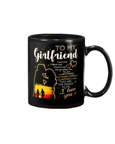 Girlfriend I Like You I love You Mug CC
