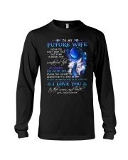 I Hope You Don't Mind Wolf Long Sleeve Tee tile