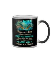 Today And Always Beyond Tomorrow Turtle  Color Changing Mug thumbnail