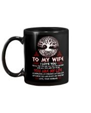Viking You Are My Life Wife Mug back