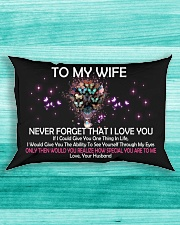 Never Forget That I Love You Rectangular Pillowcase aos-pillow-rectangle-front-lifestyle-5