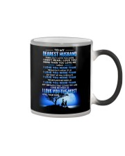 Family Husband I Love You Most Color Changing Mug tile