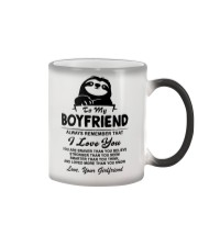Sloth Boyfriend I Love You Color Changing Mug thumbnail