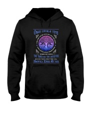 I Became Yours And You Became Mine Wolf Hooded Sweatshirt thumbnail