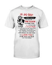 Welder Wife Clock Ability Moon Classic T-Shirt thumbnail