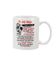 Welder Wife Clock Ability Moon Mug front