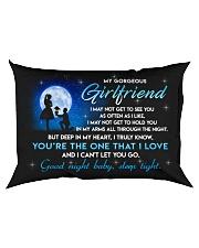 Girlfriend Good Night Baby Sleep Tight Rectangular Pillowcase back