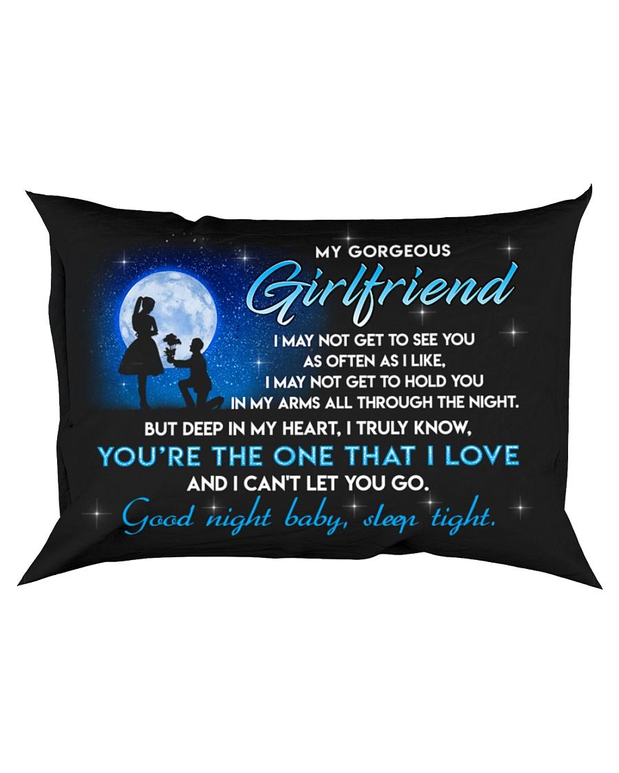 Girlfriend Good Night Baby Sleep Tight Rectangular Pillowcase