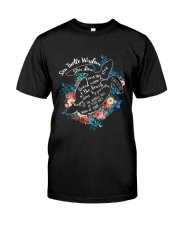 Sea Turtle Wisdom Classic T-Shirt front