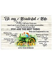 I Tell You I Love You Farmer 17x11 Poster front