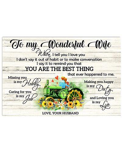 I Tell You I Love You Farmer