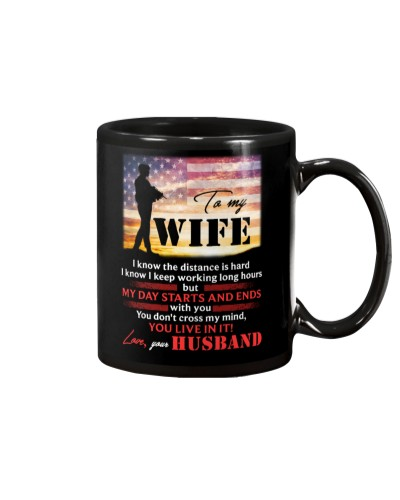 To My Wife I Know The Distance Is Hard Veteran