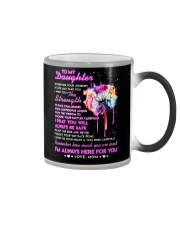 Wherever Your Journey In Life May Take You Family Color Changing Mug tile