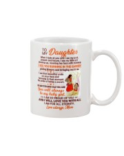 I Look At You And I See My Past Present And Future Mug front