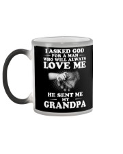I Asked God For A Man Who Will Always Love Me  Color Changing Mug thumbnail