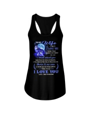 I Love You More Than Words Can Show Wolf Ladies Flowy Tank thumbnail