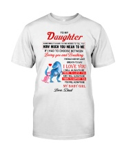 Dinosaur Daughter Last Breath To Say Love  Classic T-Shirt thumbnail