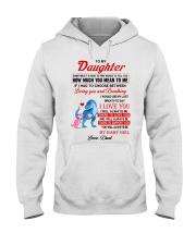 Dinosaur Daughter Last Breath To Say Love  Hooded Sweatshirt thumbnail