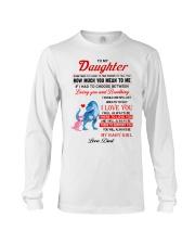Dinosaur Daughter Last Breath To Say Love  Long Sleeve Tee thumbnail