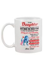 Dinosaur Daughter Last Breath To Say Love  Mug back