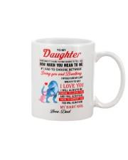 Dinosaur Daughter Last Breath To Say Love  Mug front