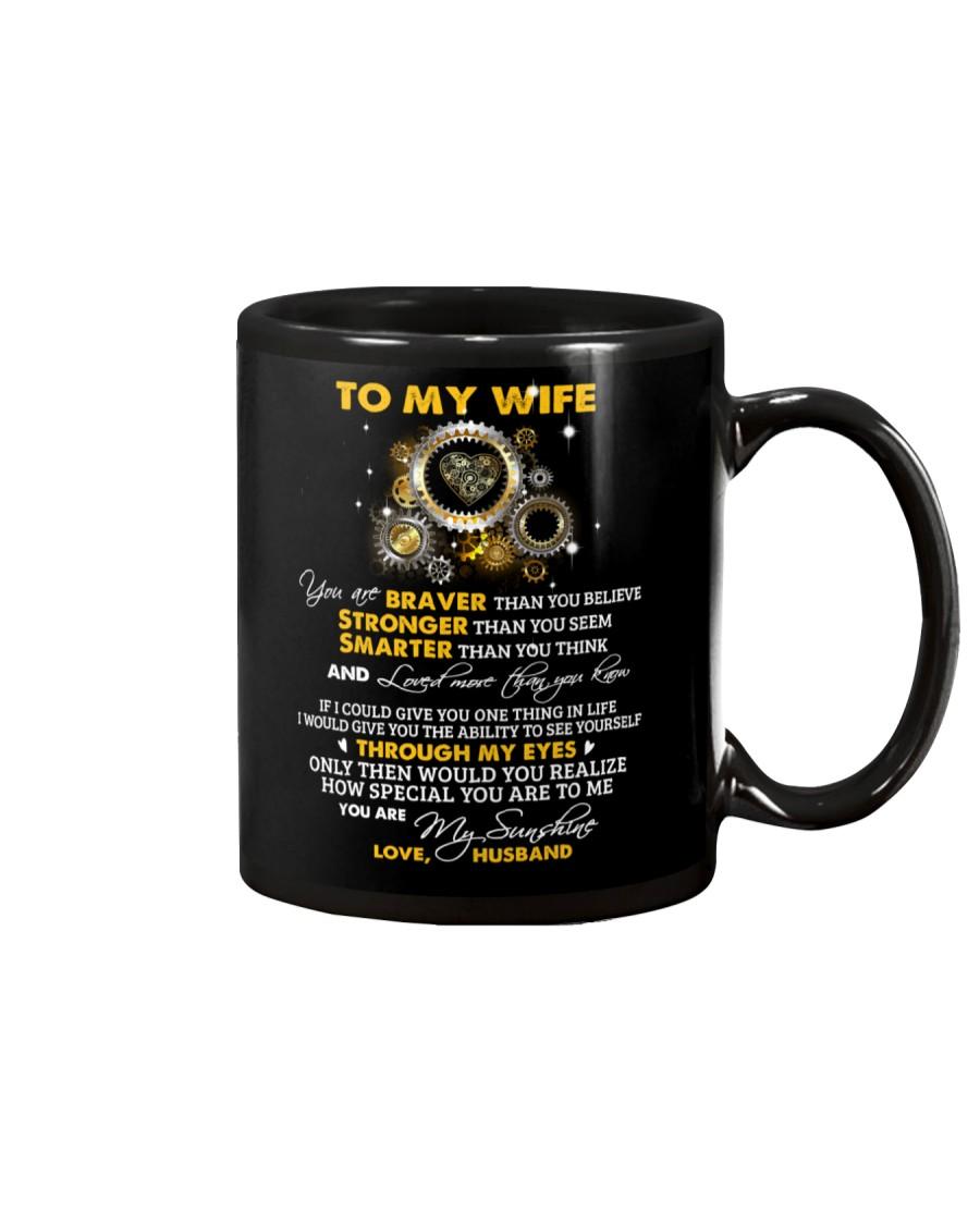 Braver Than You Believe Mechanic Mug