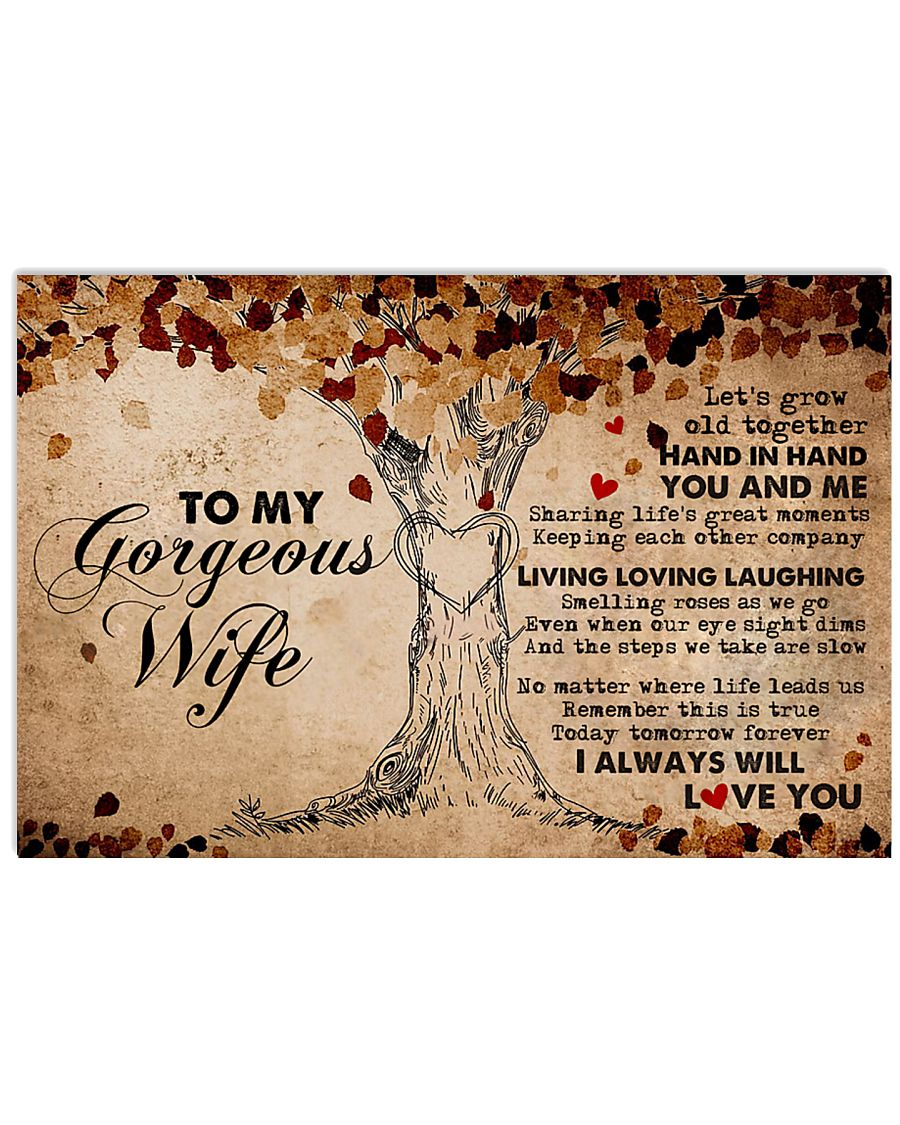 Boyfriend Grow Old Together Hand In Ha 17x11 Poster