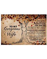 Boyfriend Grow Old Together Hand In Ha 17x11 Poster front