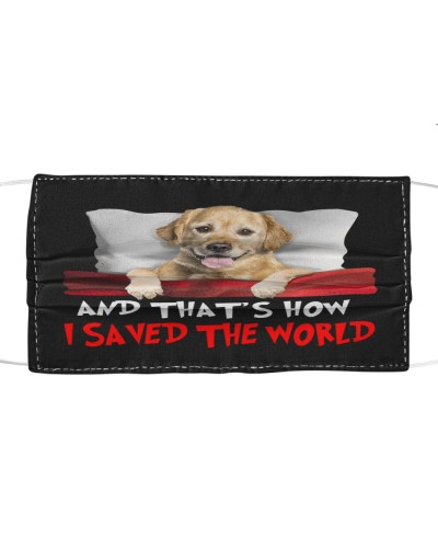 Dog Golden Retriever How I Saved The World