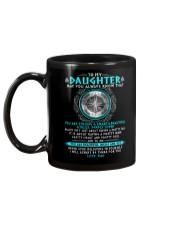 Viking Daughter Dad Beautiful Inside And Out Mug back