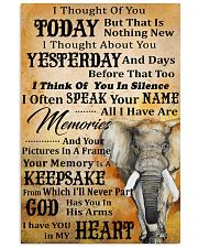 I Thought Of You Today Elephant 11x17 Poster front