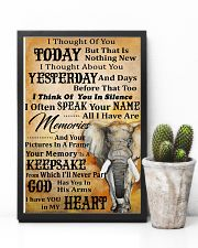 I Thought Of You Today Elephant 11x17 Poster lifestyle-poster-8